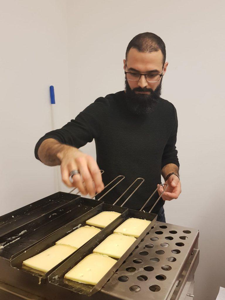 délicieuses raclettes